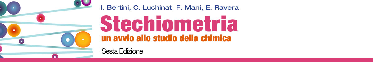 Bertini - Mani - Luchinat, Stechiometria 6ed