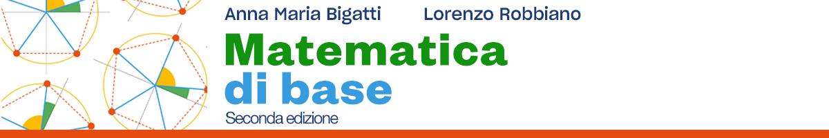 Anna M. Bigatti, Lorenzo Robbiano, Matematica di base 2E