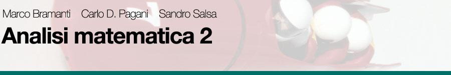 Bramanti, Pagani, Salsa, Analisi matematica 2