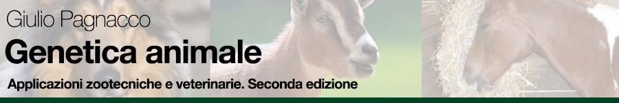 Giulio Pagnacco, Genetica animale – applicazioni zootecniche e veterinarie. Seconda edizione